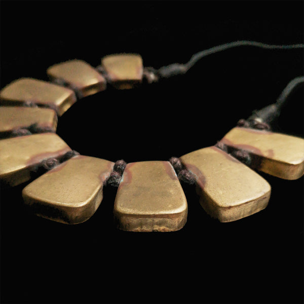 Brass Necklace from Ghana