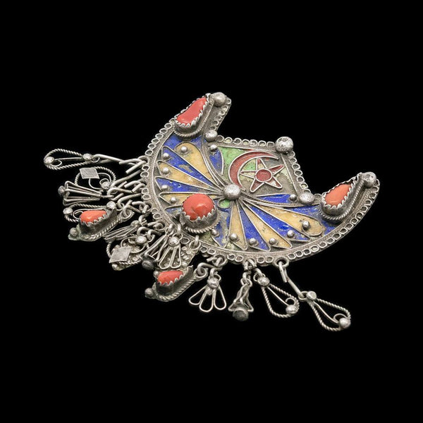 Vintage pin brooch from Kabylie