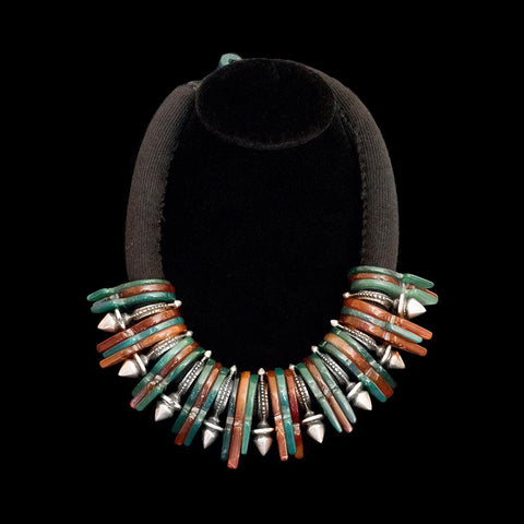 Tanfouk and zinder necklace from Niger