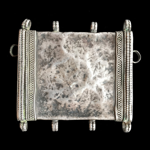 Vintage silver amulet from Yemen or Oman
