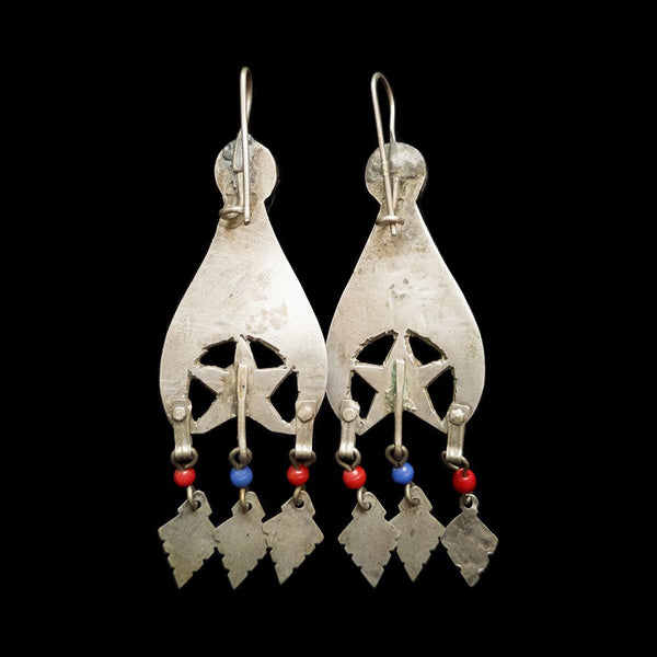Vintage silver earring from the Rif Mountains