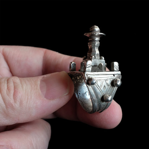 Vintage Silver Mali Mosque Ring