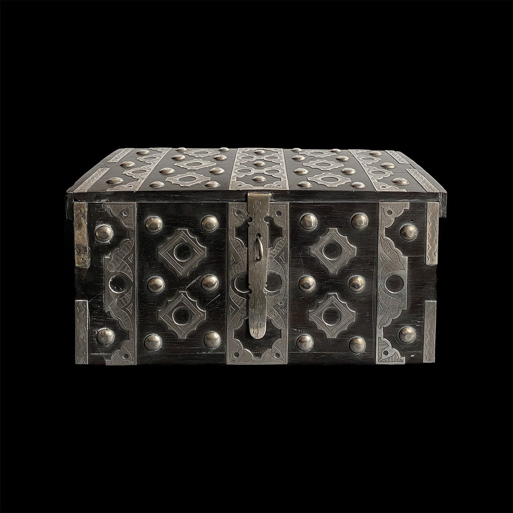 Ebony and Silver Box - small