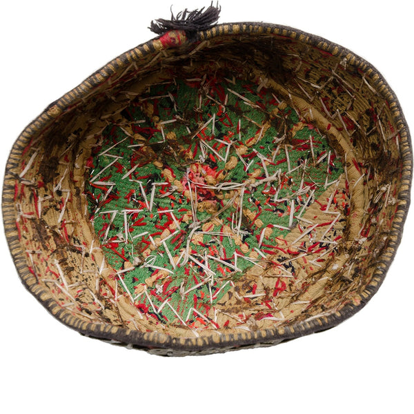 Antique hunting hat from Turkmenistan