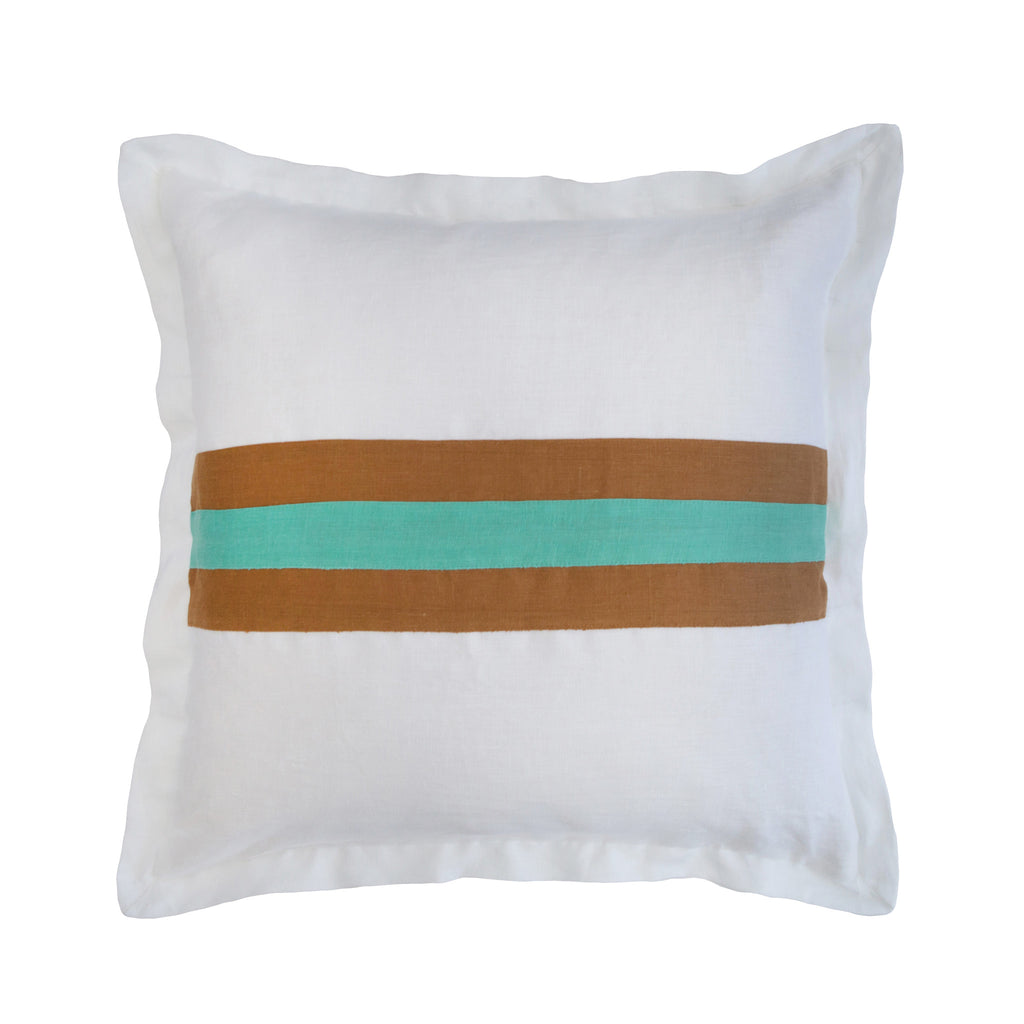 Medium Riviera Stripe Pillow
