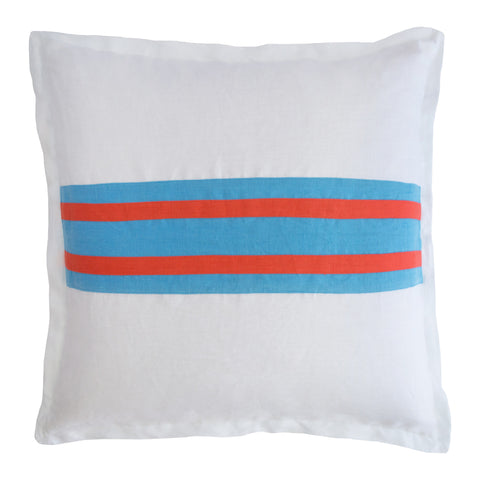 Large Riviera Stripe Pillow