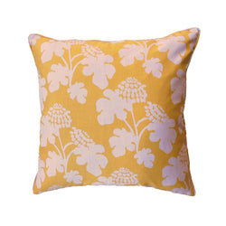 Casia Flowers Pillow - Marigold
