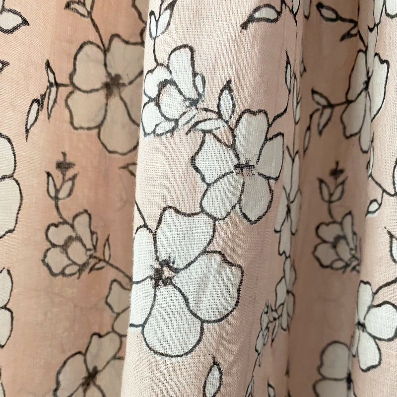 Easy Dress - Winfield Flowers Blush