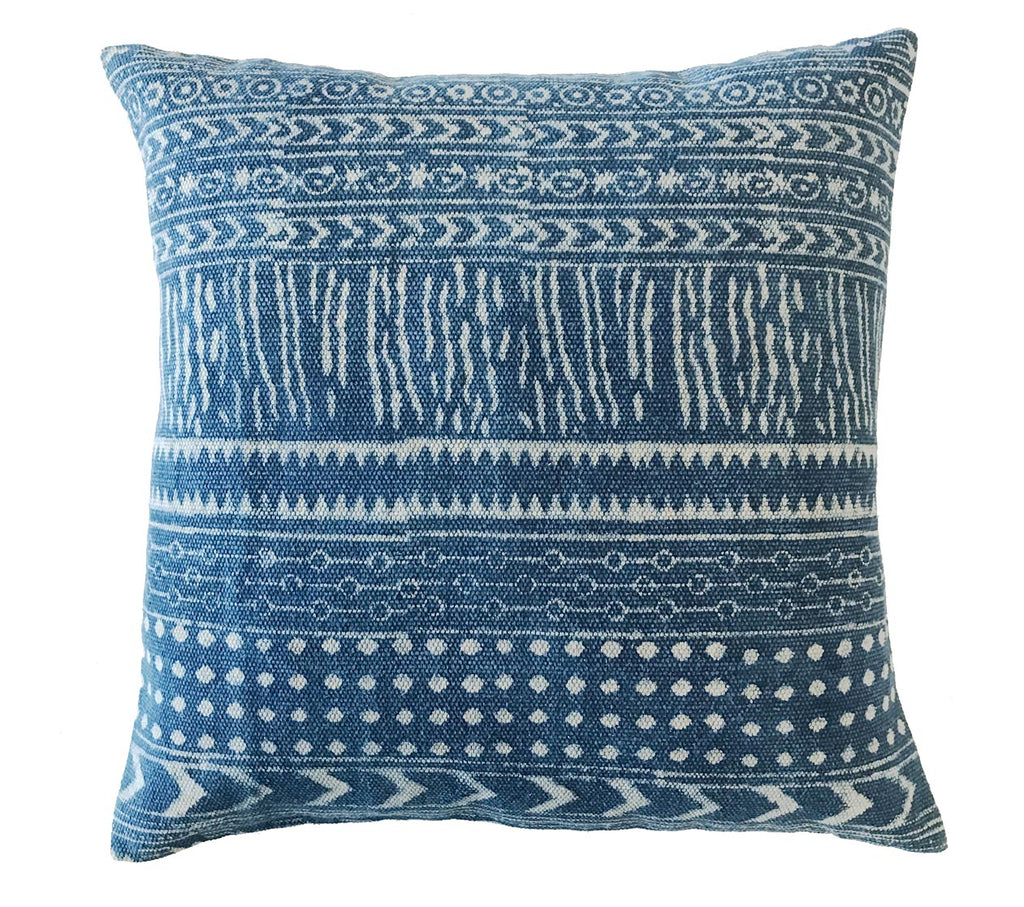 Indigo Pillow No.17