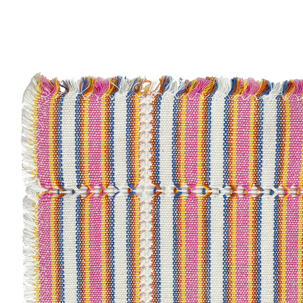 Striped Handwoven Cotton Placemat