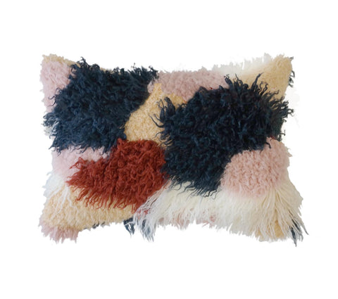 Saki Shag Pillow - Small
