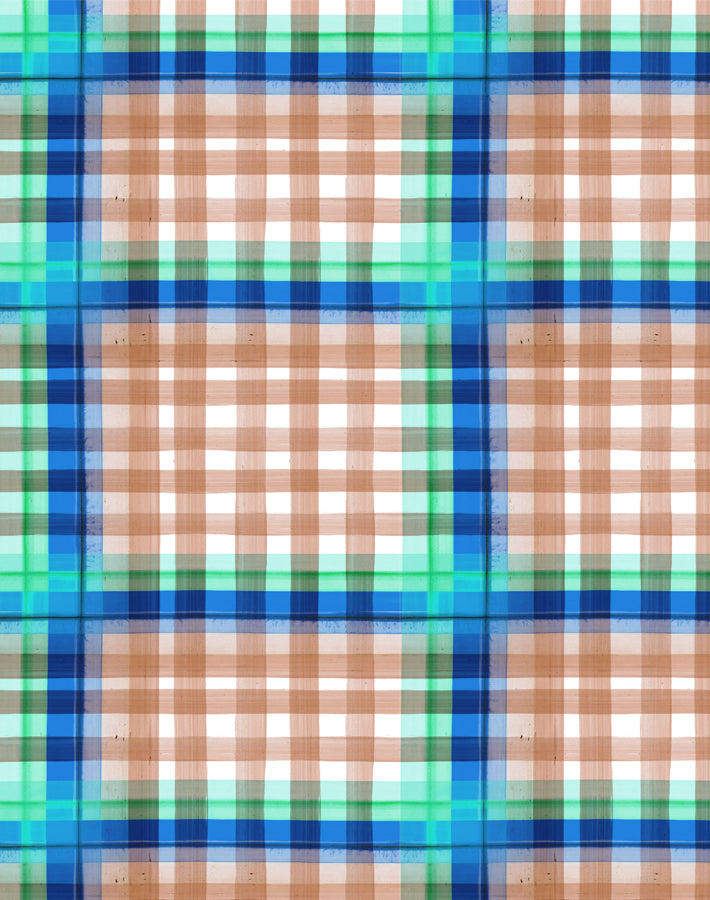 Plaid Plaid Salmon