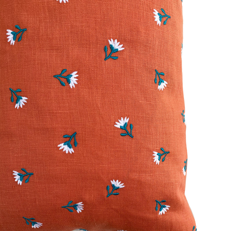 Primavera Pillow - Carrot