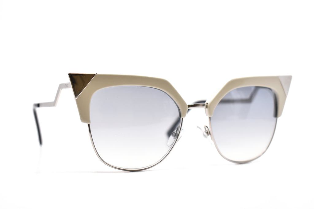 Fendi Cat Eye Ivory Sunglasses