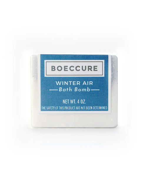 Winter Air Bath Bomb