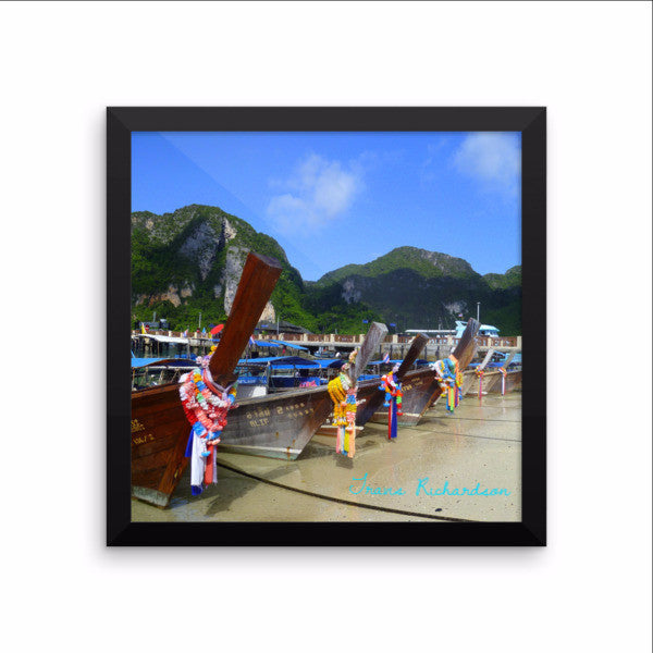 Phi Phi Long Tails, Framed Art, - Explore Dream Discover