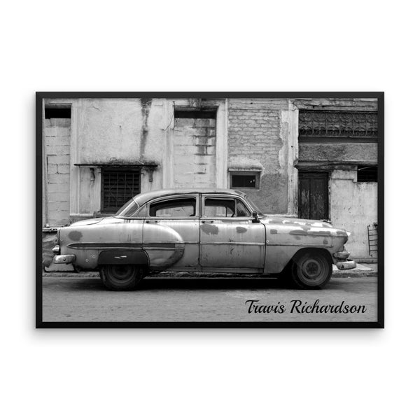 Automóvil Cubano, Framed Art, - Explore Dream Discover