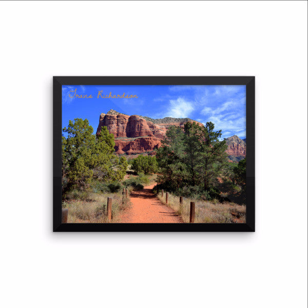 Sedona Sunday, Framed Art, - Explore Dream Discover