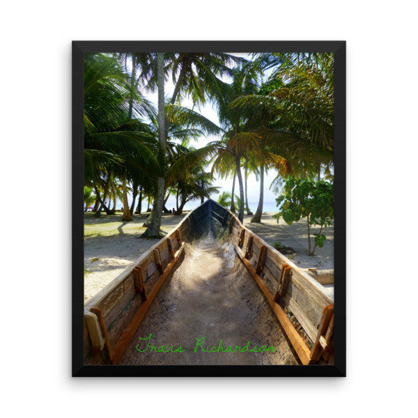San Blas Sands, Framed Art, - Explore Dream Discover