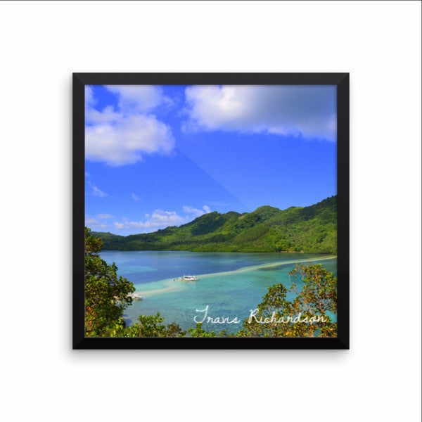 Palawan Peace, Framed Art, - Explore Dream Discover