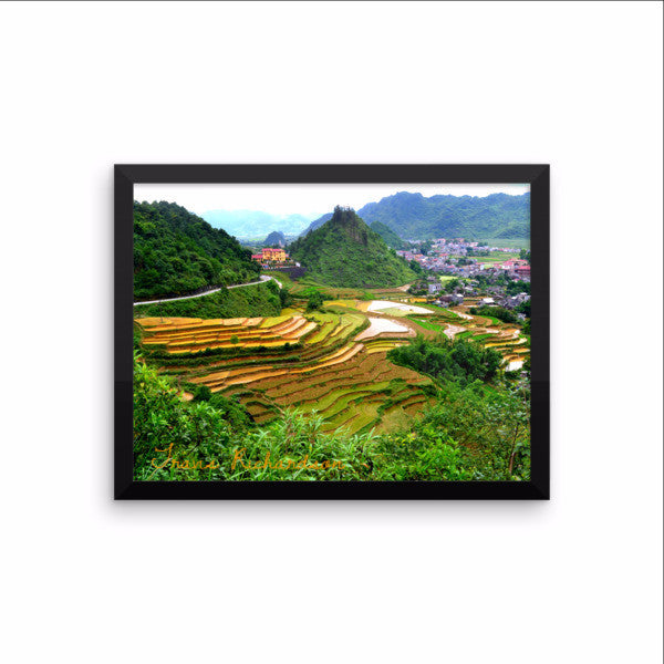 Ha Giang Highway, Framed Art, - Explore Dream Discover