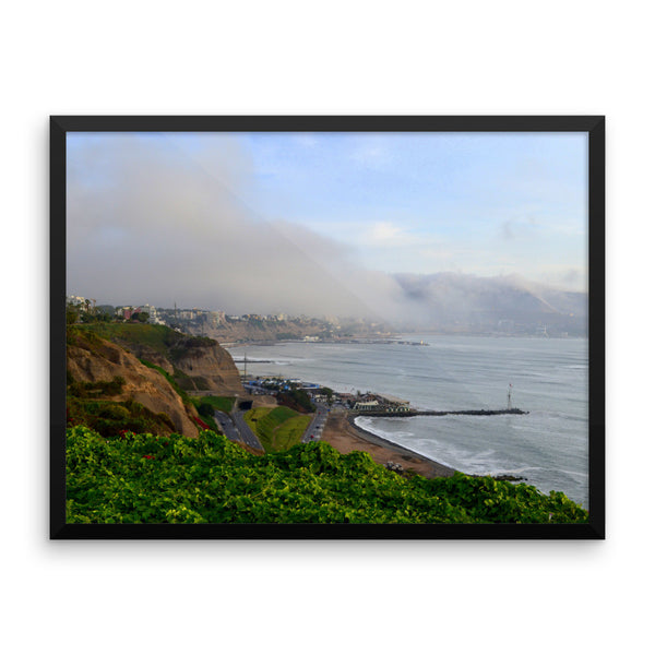 A La Izquierda, Framed Art, - Explore Dream Discover