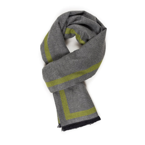 Viscose Men Scarves (Green) - Melifluos