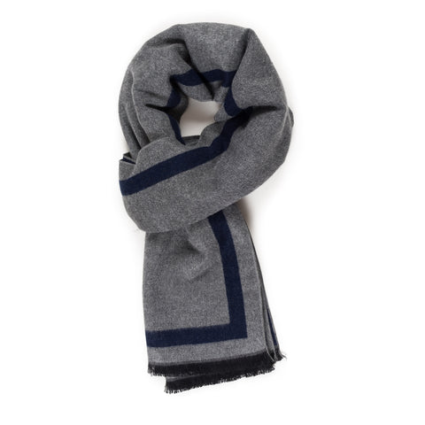 Viscose Men Scarves (Navy) - Melifluos