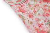100% Silk Spanish Design Scarves (Pink Floral) - Melifluos