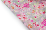 100% Silk Spanish Design Scarves (Gray Floral) - Melifluos