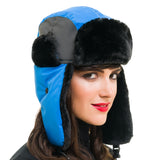 Trapper Hat (Blue Green) - Melifluos