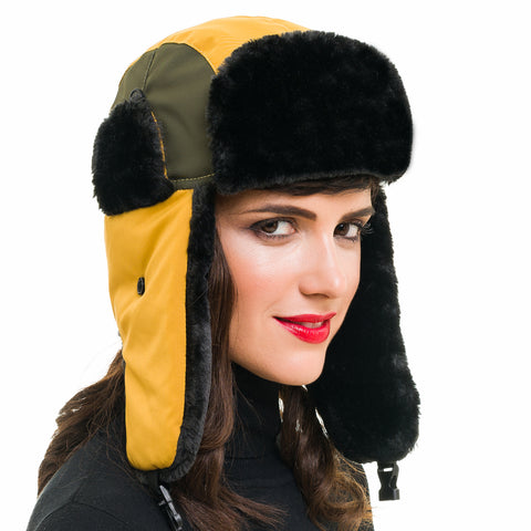 Trapper Hat (Yellow Green) - Melifluos