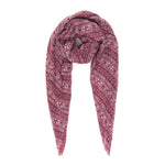 Spanish Design Printed Viscose Scarf (Mulberry Elephants)