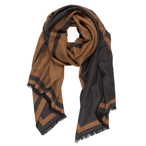 Viscose Men Scarves (Beige) - Melifluos