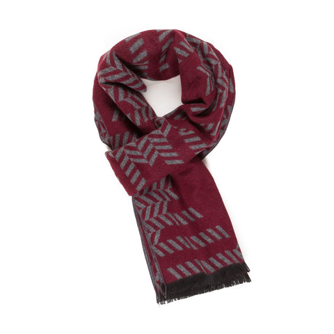 Viscose Men Scarves (Diamond Red) - Melifluos