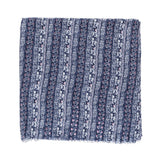 Spanish Design Printed Viscose Scarf (Blue Elephant) - Melifluos