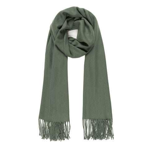 Solid Color Classic Scarf (Green) - Melifluos