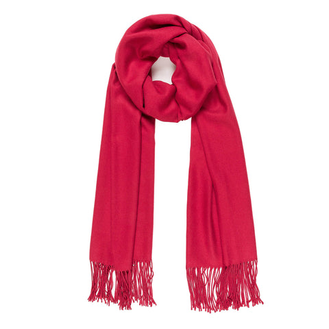 Solid Color Classic Scarf (Red) - Melifluos