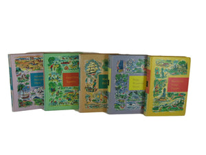 Decorative Books for Children and Nursery Decoration, S/5 - Decades of Vintage