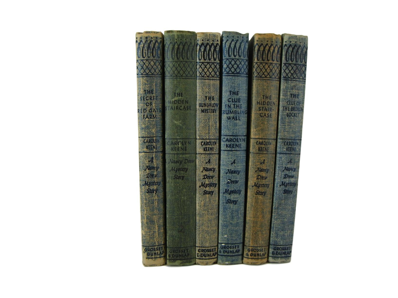 Nancy Drew Mystery Book Set, S/6 - Decades of Vintage
