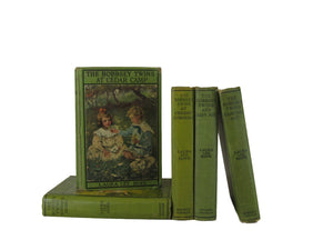 Vintage Bobbsey Twins, Set of 5, [decorative_books], Decades of Vintage