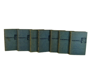 Vintage Tom Swift Adventures, Set of 7 - Decades of Vintage
