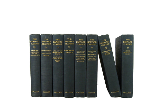 Harvard Classics from 1910, S/8 - Decades of Vintage