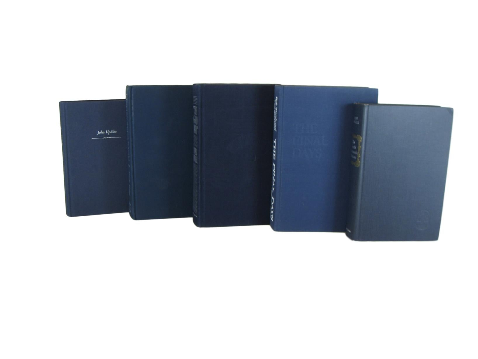 Blue Vintage Decorative Book Set, S/5 - Decades of Vintage