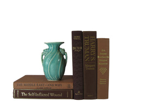 Vintage Decorative Set in Brown , S/5, [decorative_books], Decades of Vintage