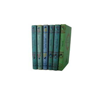 Vintage Children's Landmark Biographies, Decorative Books  , Set of 6 - Decades of Vintage
