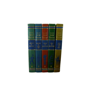 The Young Folks Shelf of Books, Colliers Junior Classics, S/5 - Decades of Vintage