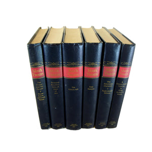 Decorative Book Set of Mark Twain Classics, S/6 - Decades of Vintage