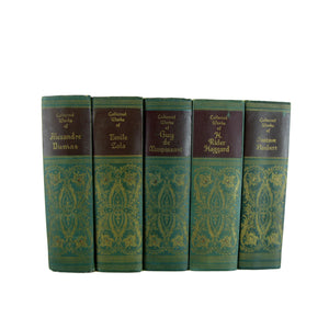 Collected Works of Famous Authors, S/5 - Decades of Vintage
