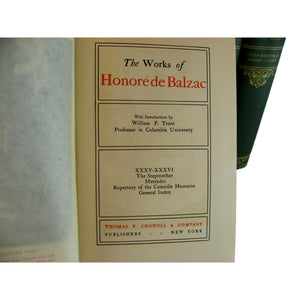 Works of Honoré de Balzac, S/6 - Decades of Vintage